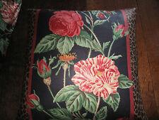 Cushion Cover SUMATRA ROSE Nina Campbell ~ vintage fabrics