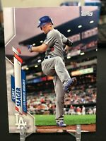 2020 Topps Series 2 Corey Seager Photo Variation Short Print #620 LA Dodgers