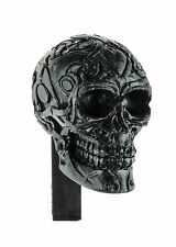 Skull Vent Clip Solid Gel Auto Car and Home Air Freshener (BLACK-Fresh&Clean)