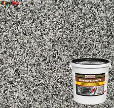 Mosaikputz Buntsteinputz BP20 (grau, weiss, schwarz) 25 kg Fertigputz Sockelputz