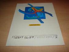 ROBERT PLANT - SHAKEN N STIRRED!!!!!!PUBLICITE / ADVERT
