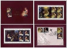 **Vaticano Romania 2010: Foglietti  Natale [Tiratura 1.000] Congiunta in Folder