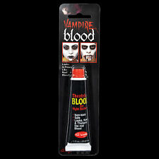 Horror Realistic Fake-ZOMBIE VAMPIRE BLOOD TUBE-Cosplay Costume Makeup Accessory