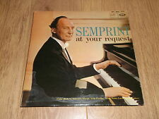 SEMPRINI AT YOUR REQUEST ~ MONO VINYL LP VG+ / EX 1963
