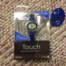 New! Oregon Scientific SE338M Gaiam Touch Screen Strapless Heart Rate Monitor