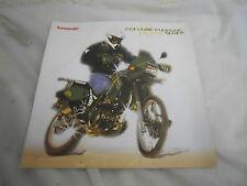 01 Kawasaki Dual Purpose Brochure KLR650 KLR250 Super Sherpa KE100