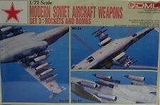 Dragon 1/72 Modern Soviet Aircraft Rockets & Bombs Sets