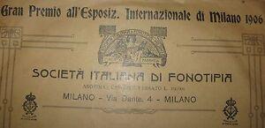 Disco primi '900 - 78 giri grande valzer e mazurka - Phonodisco Mondial
