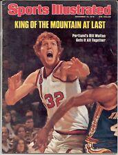 Sports Illustrated 1976 BILL WALTON Portland Trail Blazers Basketball NO LABEL