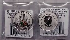 Woodland Elf $25 COIN Pure Silver 2016