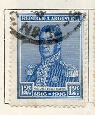 Argentine Republic 1916 Early Issue Fine Used 12c. 087382
