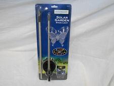 1 x Moonray 98006 Solar Powered Butterfly or Hummingbird Decorative Stake Light