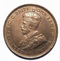 1911 Australia One 1 Penny - George V (High Grade) - Lot 42