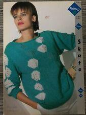 "Phildar Knitting Pattern: Ladies Sweater, DK, 32-38"", 7451"