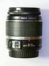 Canon EF-S 18-55mm f3.5-5.6 IS DSLR Lens Black EOS