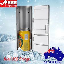Portable USB Electric Mini Bar Fridge Home Office Refrigerator Cooler Freezer AU