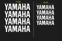 Yamaha Kit Adesivi Stickers - Set 8 pezzi - Decalcomanie moto, auto, scooter