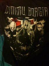 Rare Dimmu Borgir 2011 Tour T-Shirt Large L Black Metal Free UK Post New