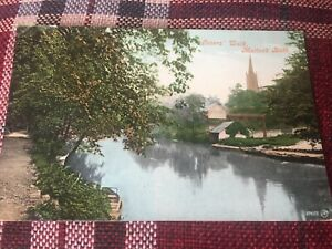 SWITCHBACK RAILWAY ROLLER COASTER POST CARD MATLOCK BATH *RARE*