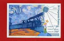 (B NF135) 50 FRANCS SAINT EXUPERY  1994 Lettre  M  ( SPL )  RARE