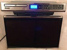 """RCA SPS36123 15.4"""" Under Cabinet Kitchen Flip Down LCD TV/DVD AM/FM Radio WORKS"""