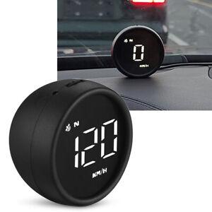 Car Digital GPS Speedometer Head Up Display HUD MPH/KM Overspeed Warning Alarm