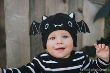 """BABY BAT HAT """"NWT"""" HALLOWEEN CAP VAMPIRE SIZE 0-6 MONTHS"""