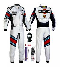 Go Kart Race Suit CIK FIA Level 2 Approved free Race Karting Gloves & Balaclava