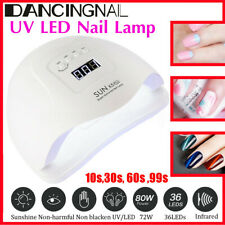 SUN X5 80W Infrared Sensor 36 UV LED Nail Dryer Lamp Curing Gel Manicure