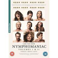 Nymphomaniac : Volumes 1 & 2 (2 Discs) - Charlotte Gainsbourg - New DVD