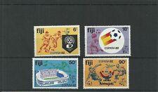 FIJI SG636-639 WORLD CUP FOOTBALL CHAMPIONSHIPS SPAIN  MNH