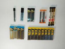 Pentel/Scripto Lot Lead Refill Mechanical Pencil NOS 0.9/0.7/0.5 SUPER HB Vintag