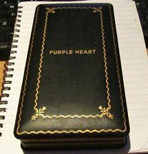 Purple Heart Medal W/ Box Case World War 2 Military WW2 Vintage America U.S.A