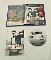 Made Man - Playstation 2 PS2 Game - Complete UK PAL - TESTED/WORKING