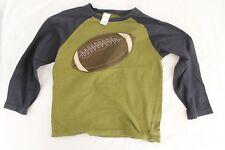 GYMBOREE Football Shirt Boys Size 7 Green