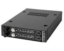 "Icy Dock ToughArmor EX 2x 2.5"" SATA/SAS HDD & SSD Mobile Rack"