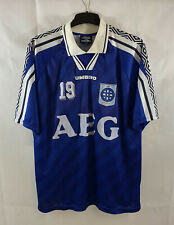 More details for nacka ff matchworn home football shirt 1993/95 adults xl umbro g322
