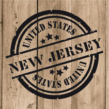 Vinilo de Corte New Jersey Pegatina Nuevo Jersey USA United States 10 cm Pared