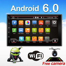 "Android 6.0 Double DIN 7"" Car Stereo GPS Sat Nav SD DAB+ WiFi 3G Radio Bluetooth"