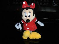 """Disney Store 9"""" Minnie Mouse Plush Doll Childrens Toy"""