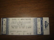 CONCERT TICKET STUB PRINCE  THE ARTIST   10/10 /97 UNUSED TICKET