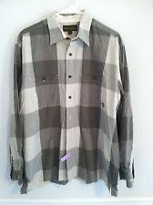 Timberland button down shirt men's size large long sleeve green dress clothes