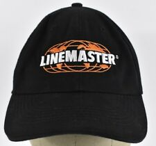 Black Linemaster Switch Corporation Logo Embroidered Baseball hat cap Adjustable