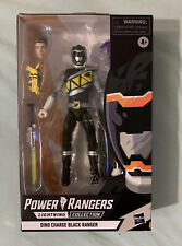 DINO CHARGE BLACK RANGER - Power Rangers Lightning Collection - Target Exclusive