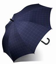 Esprit Parapluie Gents Long AC Check Blue