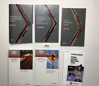 2020 Toyota Camry Owners Manual