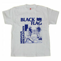 BLACK FLAG T-Shirt Nervous Breakdown Punk Band Tee New Authentic S-5XL