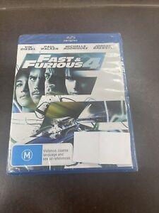 Fast & Furious 4 Blu-Ray Movie - Paul Walker - FREE POSTAGE! **