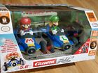Carrera RC Mario Kart MARIO AND LUIGI RC 1:18 Scale Cars 2-Pack BRAND NEW SEALED