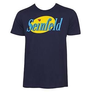 Seinfeld Show Logo Tee Shirt Blue